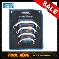 4pc Half Moon C spanner set DRAPER pro series
