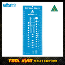Sutton Ezi Sizer gauge ruler for bolts screw drills etc