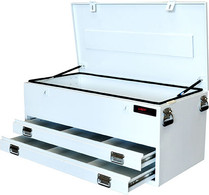 Tool box steel 2 drawer wide body  28295