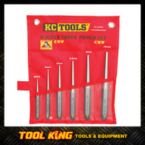 6pc Taper drift punch Set KC Tools Professional grade
