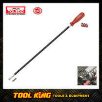 Hose clamp nut driver 600mm flexible TOLEDO professional