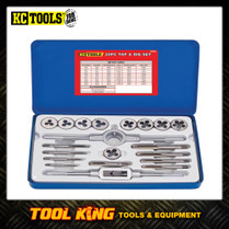 20pc Tap & Die set metric KC Tools Trade quality
