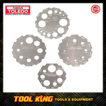 4pc Thread Gauge set TOLEDO professional
