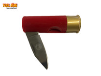 POCKET KNIFE  12 Gauge shotgun shell  bullet replica