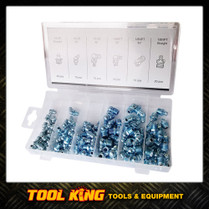 110pc Grease Nipple Assortment pack SAE