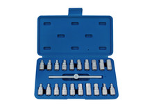 OIL PLUG SUMP KEY SET 21pc King tony  9AR11