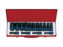 SOCKET SET  DEEP IMPACT 15pc metric 4415MP03