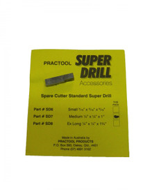 SUPER DRILL replacement cutter