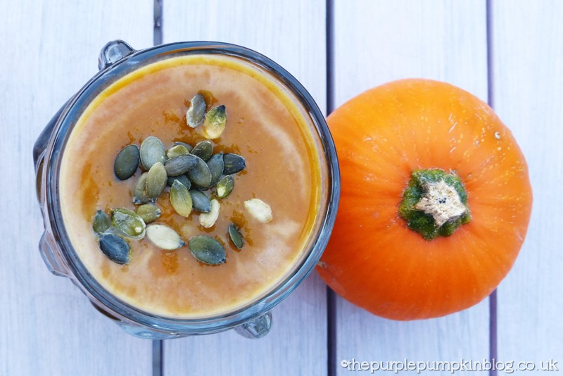 Halloween pumpkin soup
