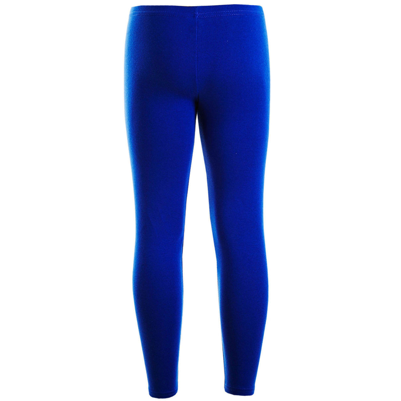 42c2ef9be7 Girls Plain Color Cotton Leggings Royal Blue 2-6 Years