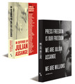 WE ARE MILLIONS and IN DEFENSE OF JULIAN ASSANGE (Paperback Combo)