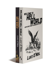 LOCKDOWN IN HELL WORLD +  WELCOME TO HELL WORLD  (Paperback Combo)