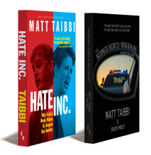 Hate Inc. + The Business Secrets of Drug Dealing (Paperback Combo)   MATT TAIBBI
