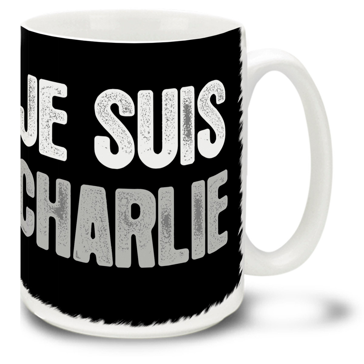 Support Freedom Of Expression And Charlie Hebdo With A Je Suis Charlie I Am Charlie Mug