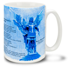 St Michael Angel Police Protection and Prayer - 15oz. Mug
