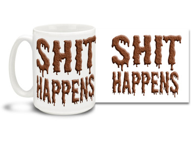 Why state the obvious when this awesome coffee mug can say it for you? 15oz skulls coffee mug is durable, dishwasher and microwave safe.