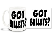 Exercise your 2nd Amendment rights with this awesome coffee mug!  15oz coffee mug is durable, dishwasher and microwave safe.