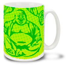 Laughing Buddha - 15oz Mug