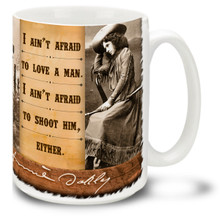 Annie Oakley Ain't Afraid to Love - 15 oz. Mug