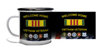 Welcome Home Vietnam Veteran - Metal Camp Mug