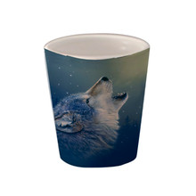 Ascending Song Gray Wolf - 1.5oz. Ceramic Shot Glass