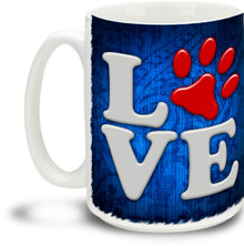 Puppy Love - 15 ounce Coffee Mug