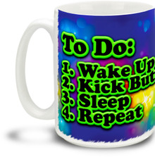 To-Do List - 15 ounce Coffee Mug