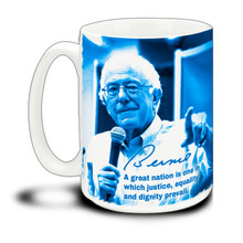 Bernie - A Great Nation - 15 Ounce Coffee Mug