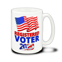 Registered Voter - 15 Ounce Coffee Mug