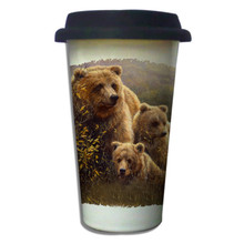 Denali Family Grizzlies - 11oz. Insulated Ceramic Travel Mug