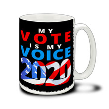 My Vote My Voice - 15 Ounce Coffee Mug