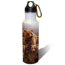Denali Family Grizzlies - 22oz. Stainless Steel Water Bottle