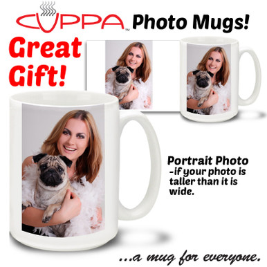 Special occasion gifts! Share a custom photo mug with your friends.
