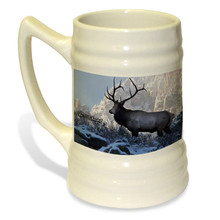 Top of the World Bull Elk - 22oz. Stein