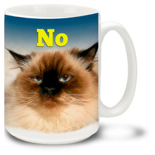 Grumpy Cat – No - 15oz. Mug