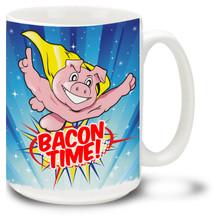 Bacon Mug: Bacon Time - 15oz. Mug