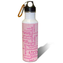 Fitness Motivation - 22oz. Stainless Steel Water Bottle