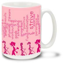 Fitness Motivation - 15oz. Mug