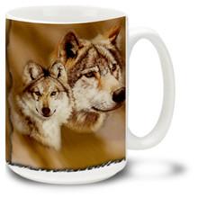 Wolf Dog - 15oz. Mug