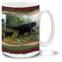 Northern Explorers Black Bears - 15oz. Mug
