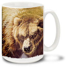Grizzly Bear - 15oz. Mug