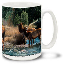 His Majesty Elk - 15oz. Mug
