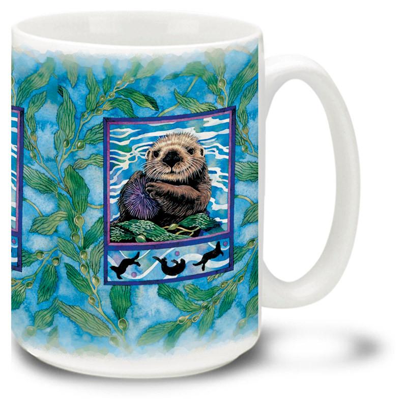 Sea Otter 15oz Mug Cuppa