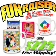 FunRaiser 36 Custom Designed Mug Special