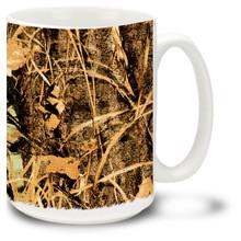 Swampland Camo Hunter Camouflage - 15oz. Mug