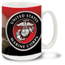 Marines Pain is Weakness Leaving the Body - 15oz. Mug