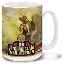 United States Army Afghanistan War Veteran - 15oz. Mug