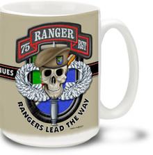 United States Army Rangers Legend - 15oz. Mug