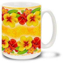 Warm Hibiscus - 15oz. Mug