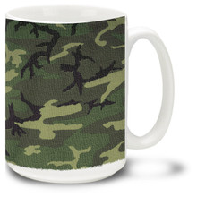 Army Woodland Camo - 15oz. Mug